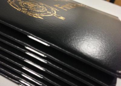 Agenda - Gold Foil Cover
