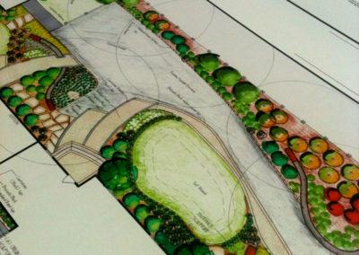 Blueprint Site Plan - Large Format