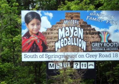Outdoor Billboard on Aluminum Panel