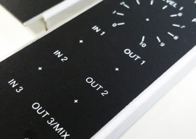 Screen Print onto Supplied Metal Board Panels